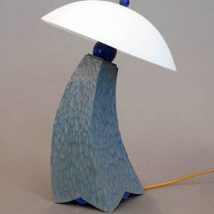custom one of a kind jazz inspired lamp mini