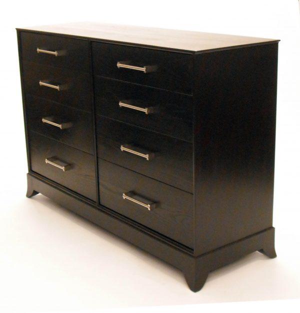custom built espresso chest of drawer