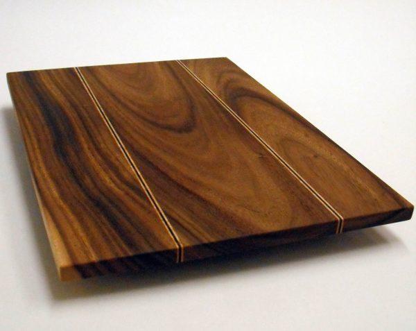 custom wood monkey pod cutting board