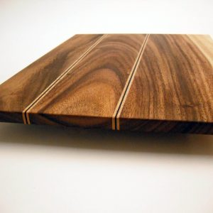 custom wood monkey pod cutting board g